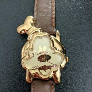 Lorus Disney Goofy Gold watch